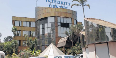 The Ethics and Anti-Corruption Commission offices in Nairobi